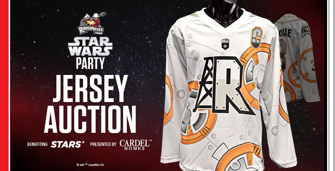 c3eacb7fc Star Wars Jersey Auction