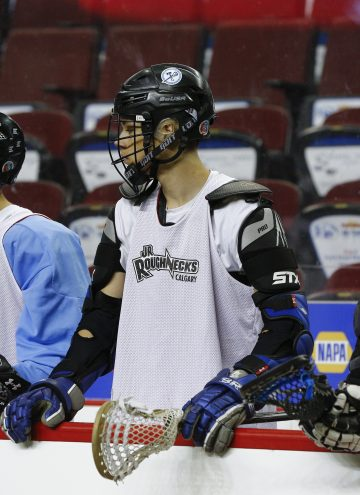 Youth Athletes On Jr. Roughnecks Tryouts