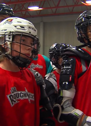 RTV: The Jr. Roughnecks Are Ready To Go!