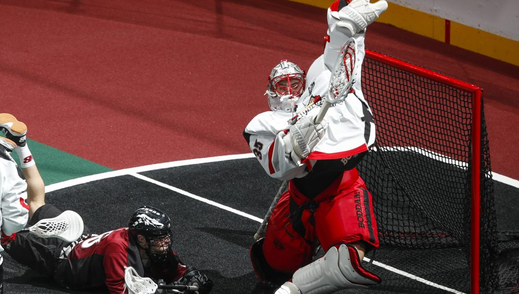 Calgary Roughnecks at Colorado Mammoth 01.20.19 Jack Dempsey 01/12/2019 National Lacrosse League
