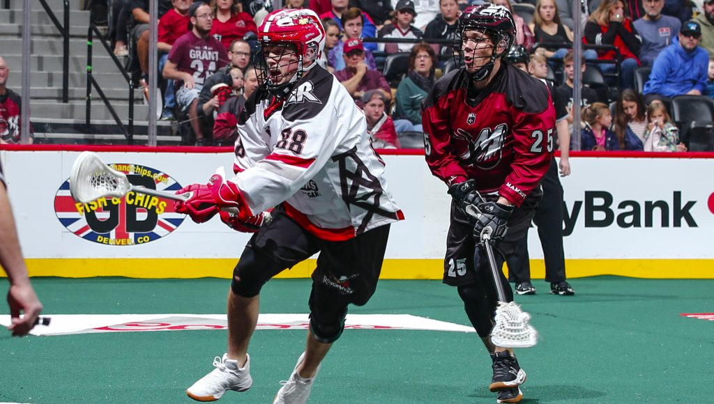 Calgary Roughnecks at Colorado Mammoth 01.06.19 Jack Dempsey 01/06/2019 National Lacrosse League