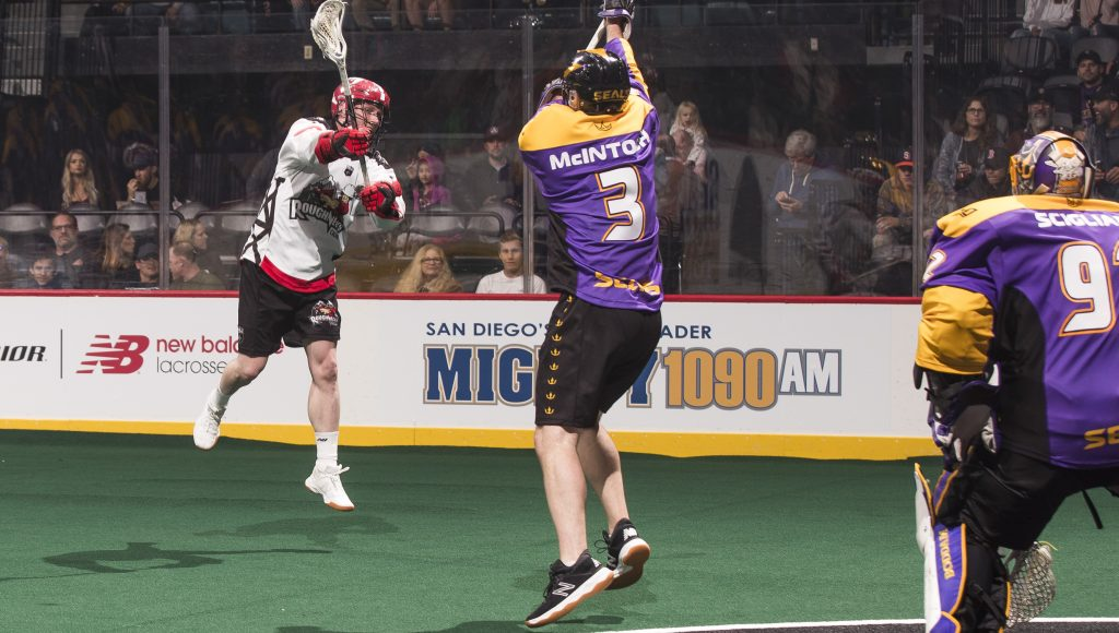 Calgary Roughnecks at San Diego Seals 01.18.19 Mike McGinnis 01/18/2019 National Lacrosse League