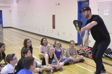 ELEV8 CLASSROOM Lacrosse presented by the Calgary Roughnecks