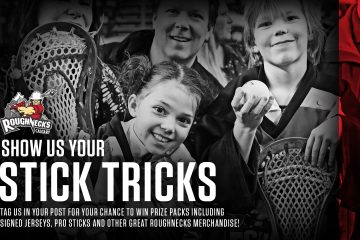 Roughnecks Stick Tricks Contest!